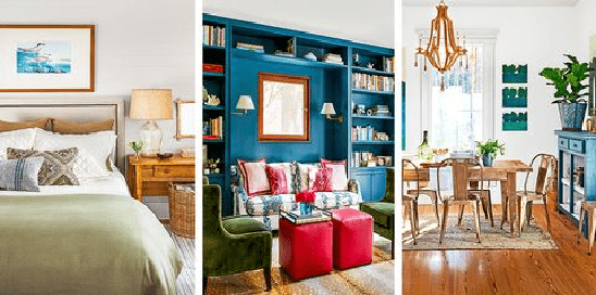 the Home's Happier House Interior Space