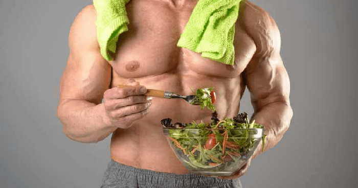 Eating by natural body & fitness