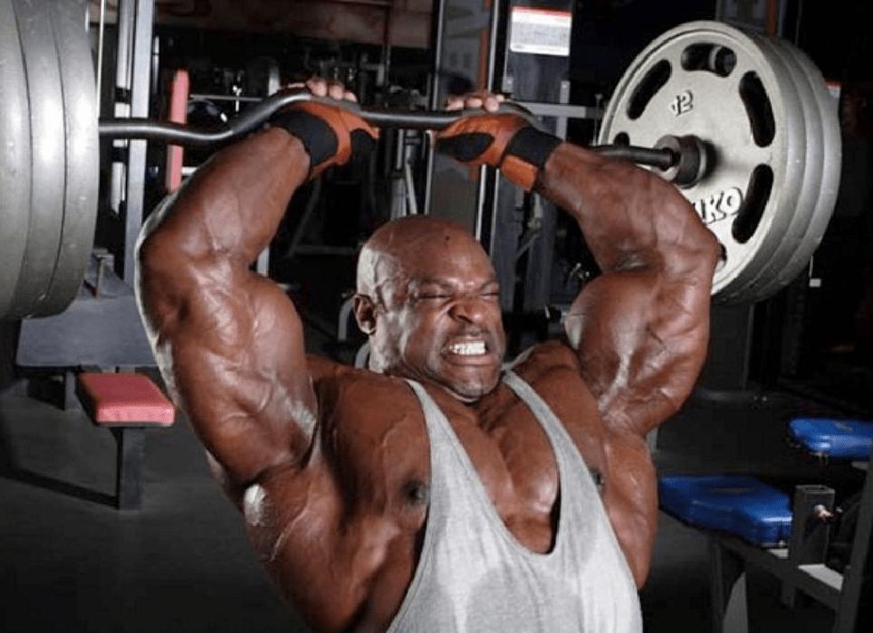 work heavier weights and volume