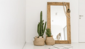 use mirrors To extend and enhance the room