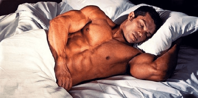 Sufficient rest for natural bodybuilding