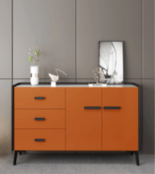 Nordic Solid Wood Kitchen Cabinets