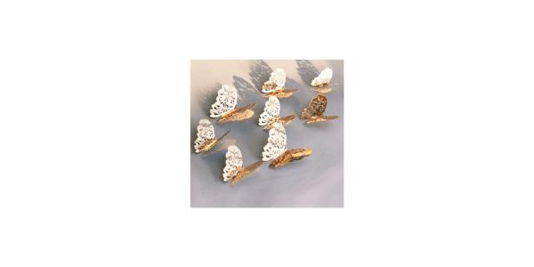 Seasonsky 72 PCS 3D Wall Butterflie