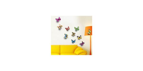 WALPLUS, Wallflexi 3D Wall Butterflie