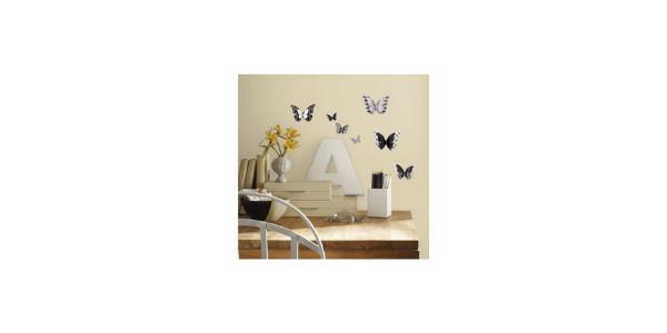 RoomMates 3D Wall Butterflie Wall Decals