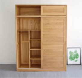 Oak Wardrobe Kitchen Cabinets