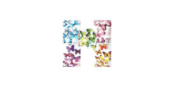 Ewong 3D Wall Butterflie Sticker