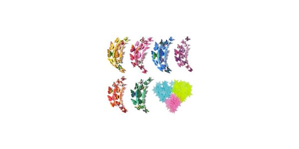 3D Wall Butterflies Decor Wall Stickers