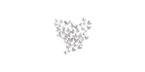 3D Wall Butterflies Sticker