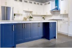 Lunar White Shaker Kitchen Cabinets