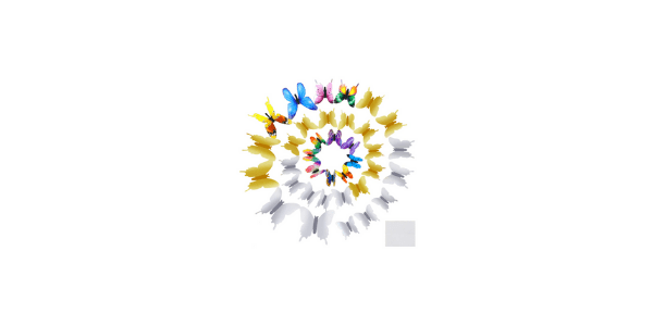 Ado Glo 3D Wall Butterflie