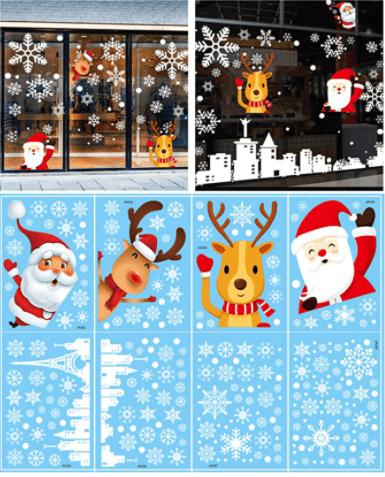 Bincout Meerore Snowflake Window Sticker