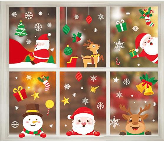 Garma Christmas Window Clings