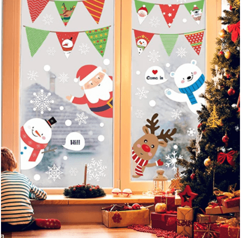 Hidreas  Window Clings Snowflake Decals