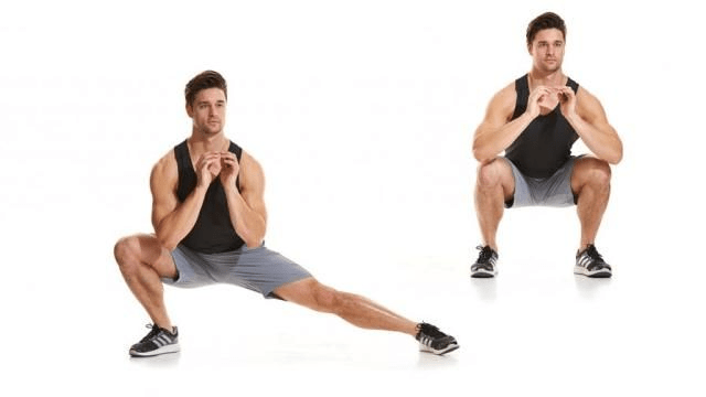 tips of Lunges
