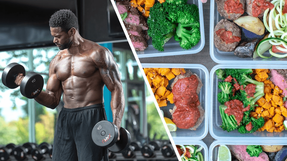gains for muscle meals