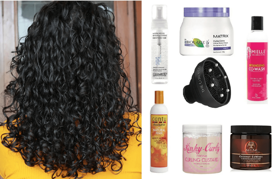 Oils for Curly Hair