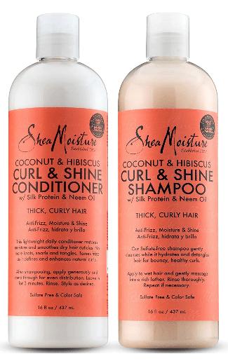 Shea Moisture Coconut & Hibiscus Curl