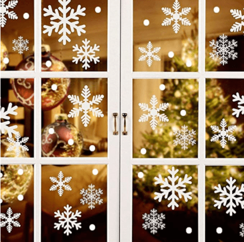 Smylls Snowflakes Christmas Window Sticker