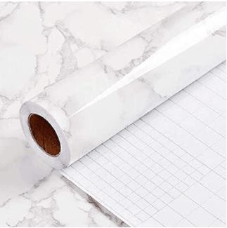 Yancorp Removable Grey Wallpaper