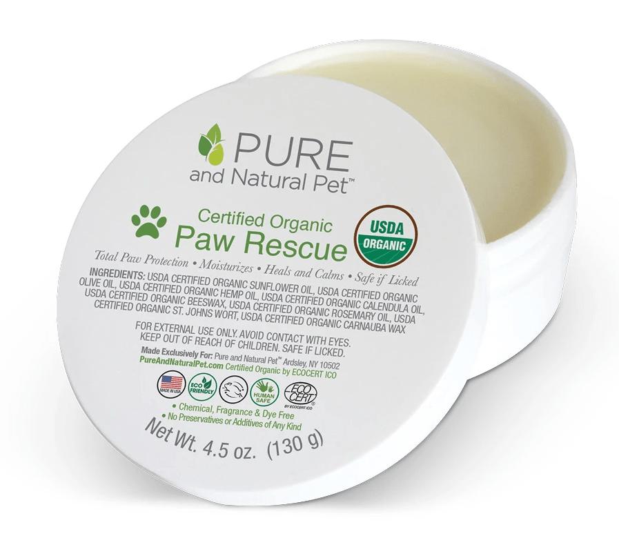 Pet Organic Paw Rescue Balm Dog Gears