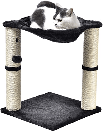 Amazon Basics Cat Condo Tree Tower with Hammock