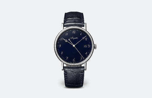 Breguet Classique 5177 'Grand Feu' Blue Enamel Watches