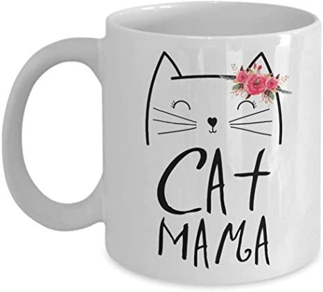 Cat Mama Mug Novelty Coffee Mugs