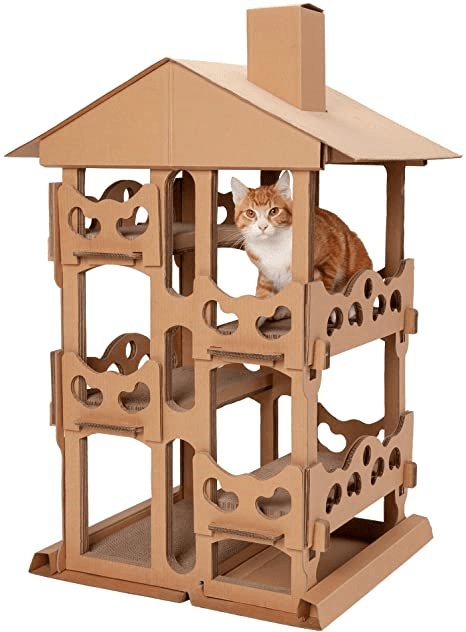 Corrugated Cardboard Cat Scratcher