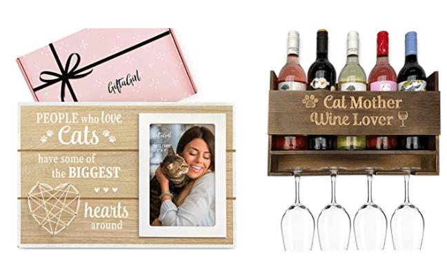 GIFTAGIRL Cat Lover Gifts for Women