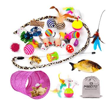 Cat Toys Kitten Toys Assorted