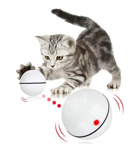 Cat Toys Ball Smart Automatic Rolling Kitten Toys