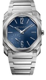 Bulgari Octo Finissimo Automatic Satin-Polished Steel Watches
