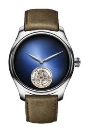 H. Moser & Cie. Endeavour Tourbillon Funky Blue Watches