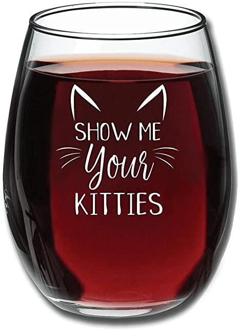 Funny Wine Glass 15oz