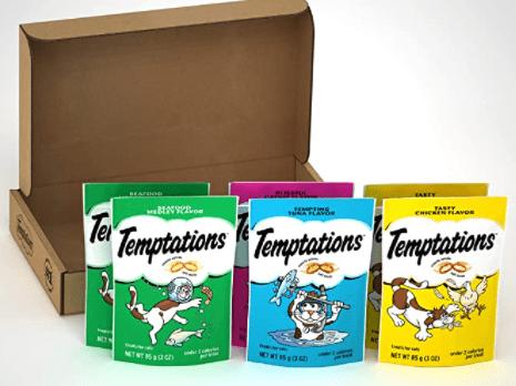 Temptations Cat Treats Variety Packs Gifts