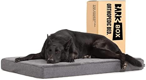 Barkbox Orthopedic Ultra Plush Pressure-Relief Memory Foam Pet Beds