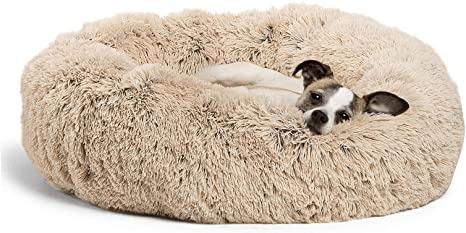 Best Friends by Sheri Original Calming Donut Shag Cuddler